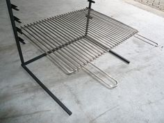 Barbacoa, Bbq Grill Diy, Outdoor Chairs, Outdoor Furniture, Outdoor Decor, Built In Braai, Brick Bbq, Porch Fireplace, Cooking Equipment