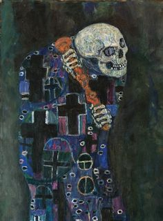 Death and Life (detail) by Gustav Klimt.