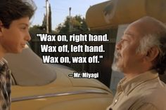 Lessons for Life (The Karate Kid)