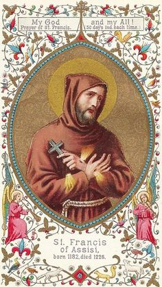 """Deus meus et omnia!"" Prayer of St. Francis (50 days ind. each time)"