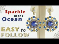 beading tutorial for beginners how to make earrings - YouTube