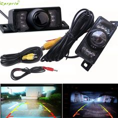 Cls  Night Vision Parking Car Rear View Wide Angle LED Reversing Camera Aug 15 #Affiliate