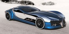 the bugatti 57T coupe concept hits the sweet spot between old and new, combining the curved doors of the chiron with the vintage designs of jean bugatti.
