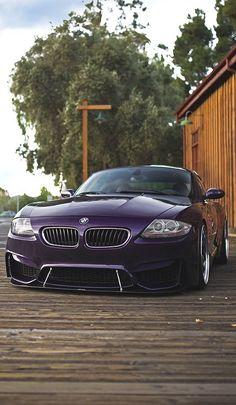 BMW Z4 Coupe — what a unique color!