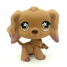 Original Pet Shop Lps Toys Purple Cocker Spaniel Dog Punny Flower Rare Animal Toys Kids Christmas Gift Littlest - Hot Products Lps Littlest Pet Shop, Little Pet Shop Toys, Little Pets, Cocker Spaniel Dog, Spaniel Puppies, Lps Dog, Pet Toys, Animal Room, Animals