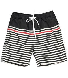 Stripe swim shorts ($26) by Boohoo, boohoo.com   - Esquire.com