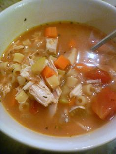 Slice of Southern: Chicken Ditalini Soup