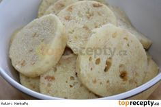 Houskový knedlík z mikrovlnky Snack Recipes, Healthy Recipes, Snacks, Healthy Food, Czech Recipes, Ethnic Recipes, Dumplings, Mashed Potatoes, Cheesecake