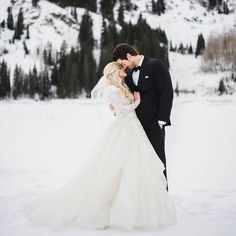 modest wedding dress with long sleeves and a full skirt from alta moda. -- (modest bridal gown) --