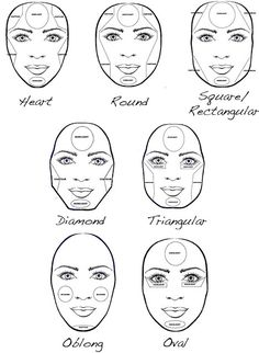 How to contour and highlight your face shape! - News - Bubblews