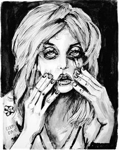 Courtney Love Cobain no.2 by Lucas David