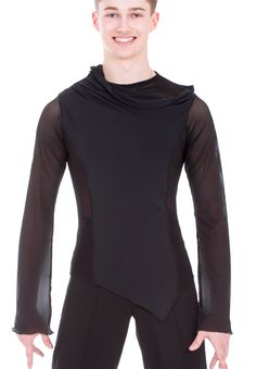 DSI Ashley Latin Dance Shirt 4038| Dancesport Fashion @ DanceShopper.com