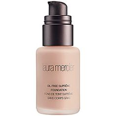 Laura Mercier - Oil Free Suprême Foundation in Shell Beige - beige with red undertones/ for medium to golden skin tones  #sephora
