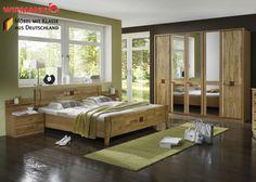 Schlafzimmer komplett Holz Erle Teil Massiv 3770. Buy now at https://www.moebel-wohnbar.de/schlafzimmer-komplett-holz-erle-teil-massiv-3770.html