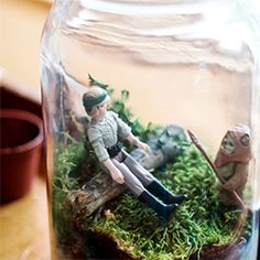 Susan Beal shares how to make geek-inspired home decor with dolls--we mean action figures--and easy-to-care for plants.