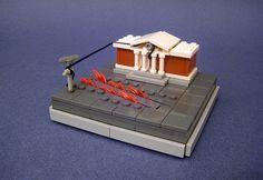 Science fiction en Lego minimalistes lego minimaliste science fiction 01 geek bonus