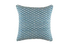 Teal Luther Cushion by KAS