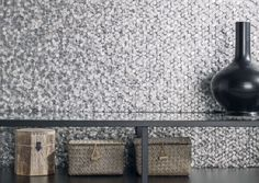 A beautiful range of mesmerising metallic mosaic tiles available at TileStyle. These L'antic Colonial metal mosaic are the stuff of interior dreams. Marble Mosaic, Mosaic Tiles, Porcelanosa Tiles, Coastal Shower Doors, Subtle Textures, Mosaic Designs, Wall Design, Colonial, Toilet