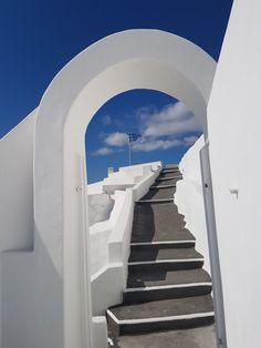Santorini Greece, Traveling, Stairs, Home Decor, Ladders, Homemade Home Decor, Ladder, Staircases, Travel