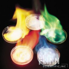 Style Flame Tests - Chemical Demonstration Kit, AP9303