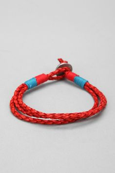 Leather rope bracelet