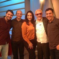 Diego Pose, Renato Galeno, Maria Beltrão, Ney Latorraca E Marcelo Balbio