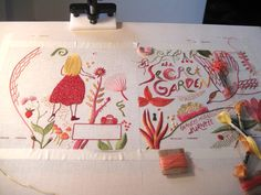 Stitched Covers: Hand-Sewn Designs for Penguin Classics, gorgeous