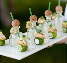 Patron Taster with Lime Tacos by I Do Inspirations