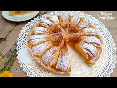 Crostata biscotto con confettura e mele - YouTube Biscotti, Nutella, No Sugar Foods, Pie Dessert, Greek Recipes, Apple Pie, Deserts, Cooking, Switzerland