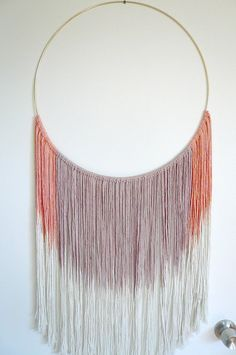 Wall Hanging: Dreamweaver in NOMAD. Hand dyed by DreamingGypset