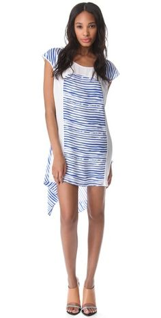 pretty blue stripes by Rebecca Minkoff