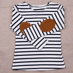 >> Click to Buy <<  Kids Girls Long Sleeve Striped T-shirt Children Summer Tops Clothes  #Affiliate