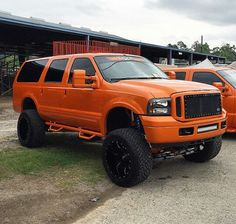 Ford Excursion Lifted Excursion, Ford Excursion Diesel, Ford 4x4, Ford Bronco, Cool Trucks, Big Trucks, Future Trucks, Off Road Camper, Luxury Cars