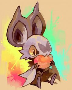 anime, noibat, and pokemon Bild