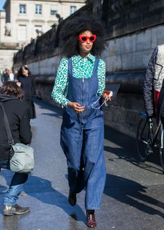 i-D's Julia Sarr-Jamois. Photo: Emily Malan/Fashionista.