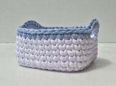 Crochet Basket Square Sml