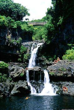 As sete piscinas sagradas, Maui - Hawaii