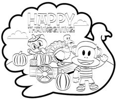 211 Best Thanksgiving Coloring Pages images | Coloring ...