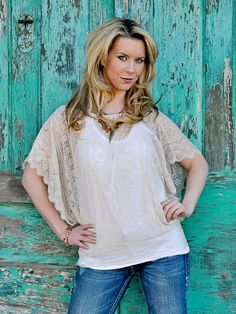 Cream Lace Top - $50.00 : FashionCupcake, Designer Clothing, Accessories, and Gifts