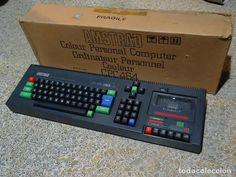 AMSTRAD CPC 464 1er. edición logo antiguo y teclas altas con caja