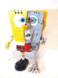 Lego Sponge Bob  Terminator