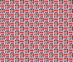 london fabric by aliceapple on Spoonflower - custom fabric