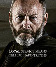 "Davos the Onion Knight: ""The real war is between the living and the Dead. And…"