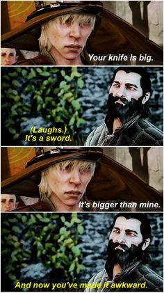 Cole & Blackwall, Dragon Age: Inquisition