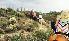 Spur cross stables - horseback groupon -Guided rides amble over the Cave Creek area and riders can drink in the visual pleasures of Tonto National Forest or Saguaro Valley