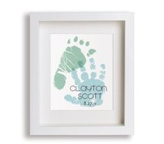 Personalized Hand And Foot Print