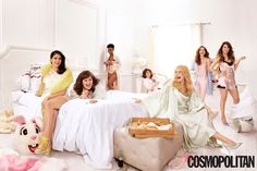 The 'SNL Sleepover' is a Provocative Affair #party #photography trendhunter.com