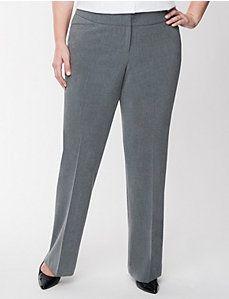 Lena tailored stretch classic leg pant