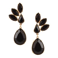 Black Chandelier Bubble Earrings ($23) ❤ liked on Polyvore featuring jewelry, earrings, chandelier jewelry, chandelier earrings, bubble jewelry, bubble earrings and earring jewelry