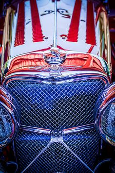 Jaguar Images by Jill Reger - Images of Jaguars - Jaguar Ss 100 Grille Emblem